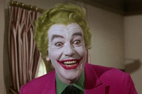 Joaquin's Joker dresses like Cesar Romero's Joker from the 60s | Sausage Roll