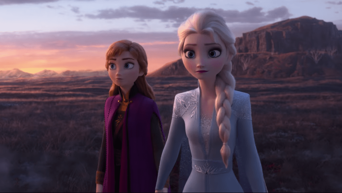 Anna's magical powers in Frozen 2 | Sausage Roll