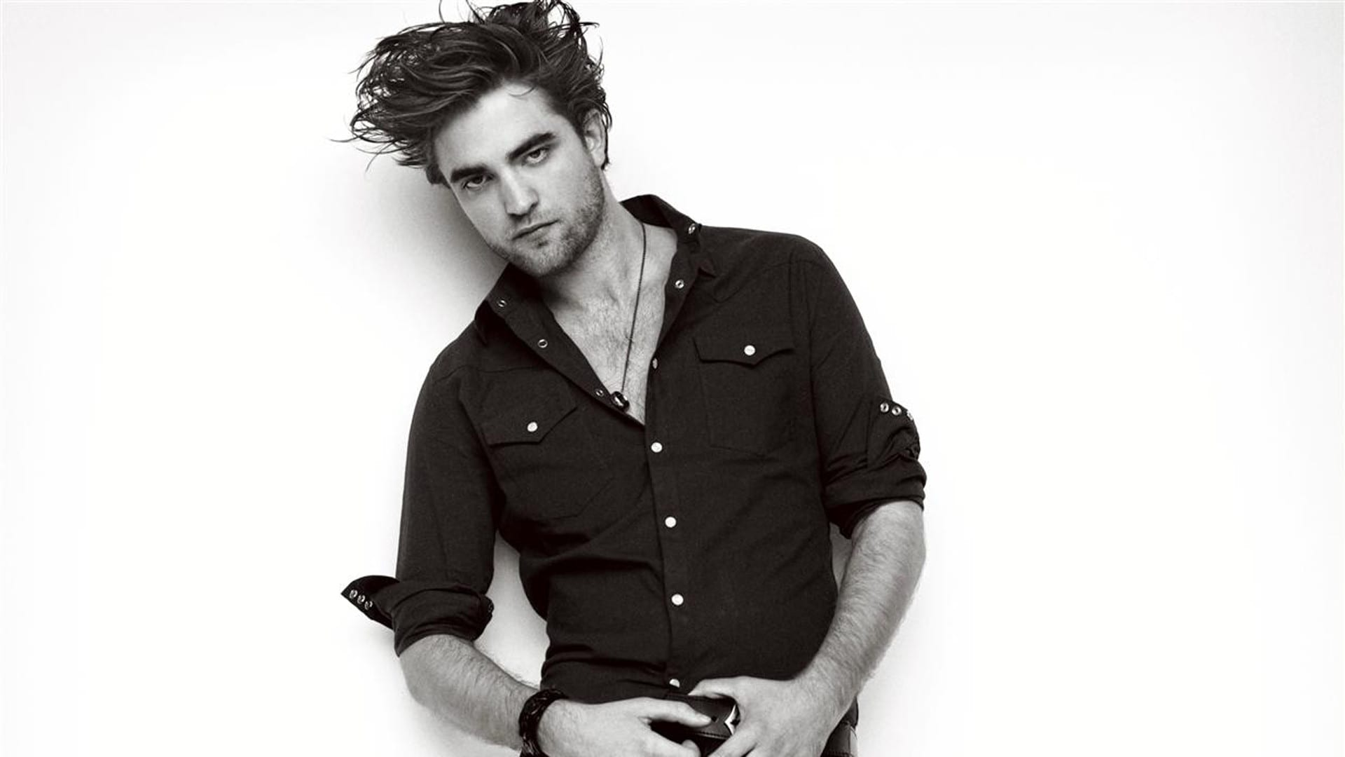 Pattinson doesn't work out