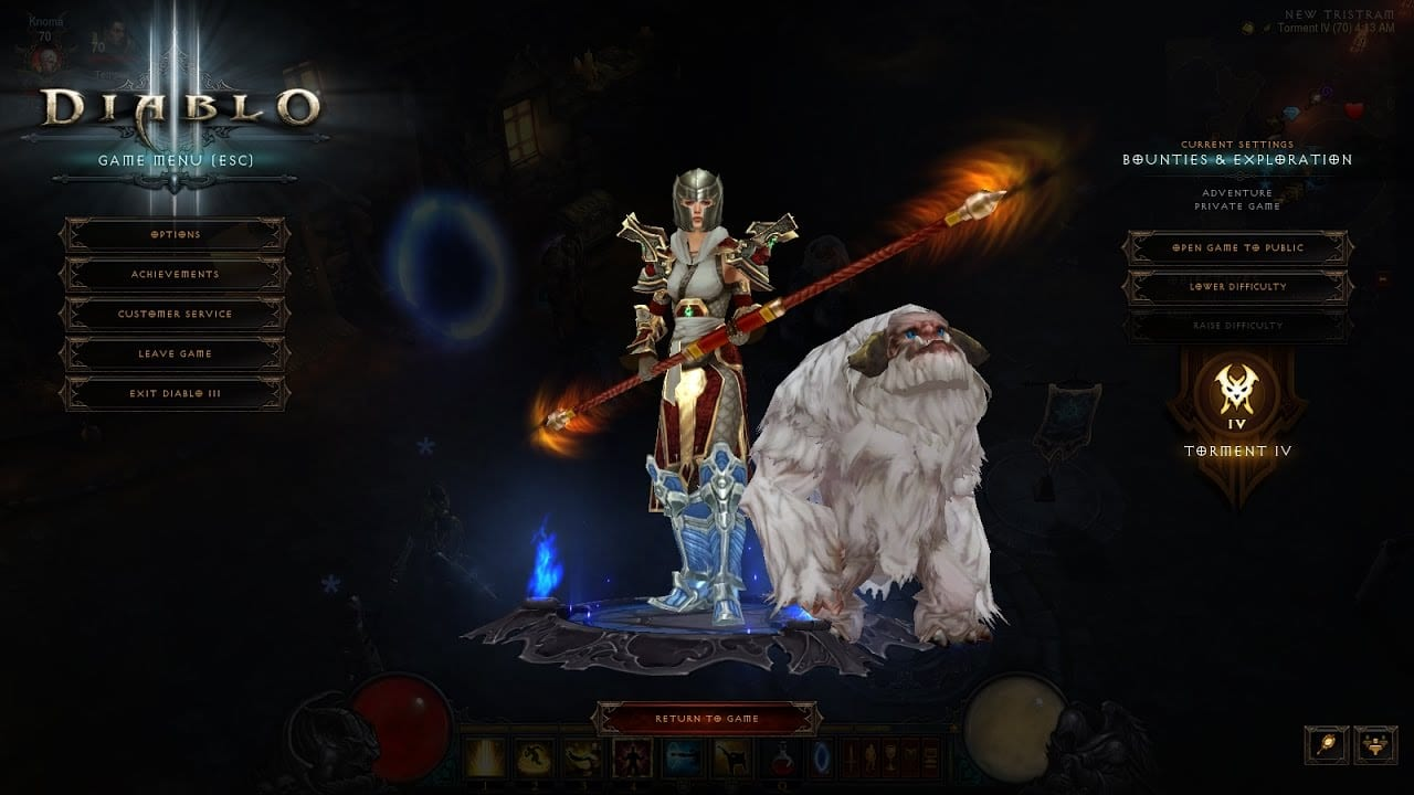 Diablo III pet - The Bumble | Sausage Roll