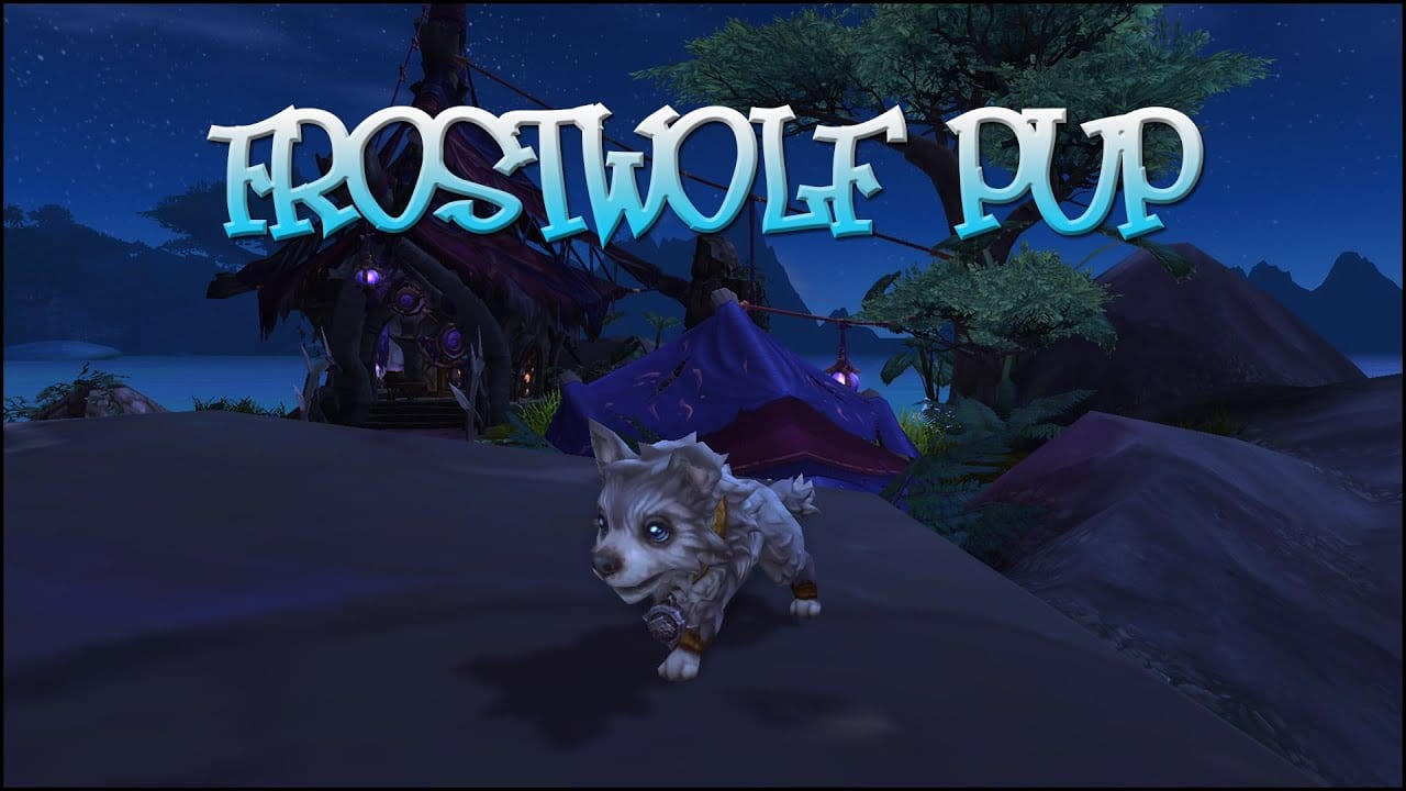 WoW pets: Frostwolf Pup | Sausage Roll