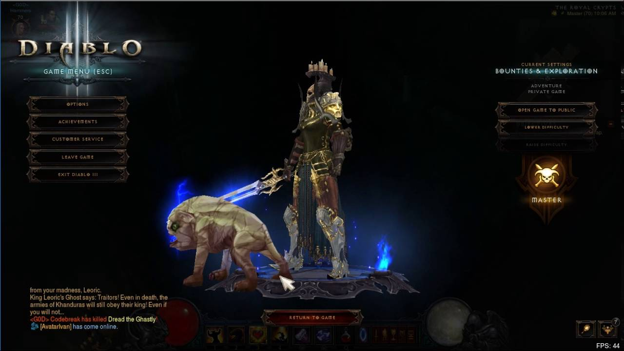 Diablo III pet - Buddy | Sausage Roll