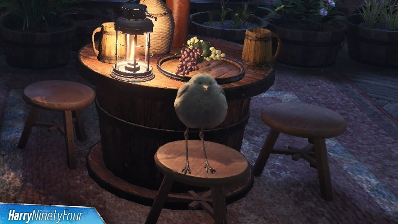 MHW pets: Downy Crake | Sausage Roll