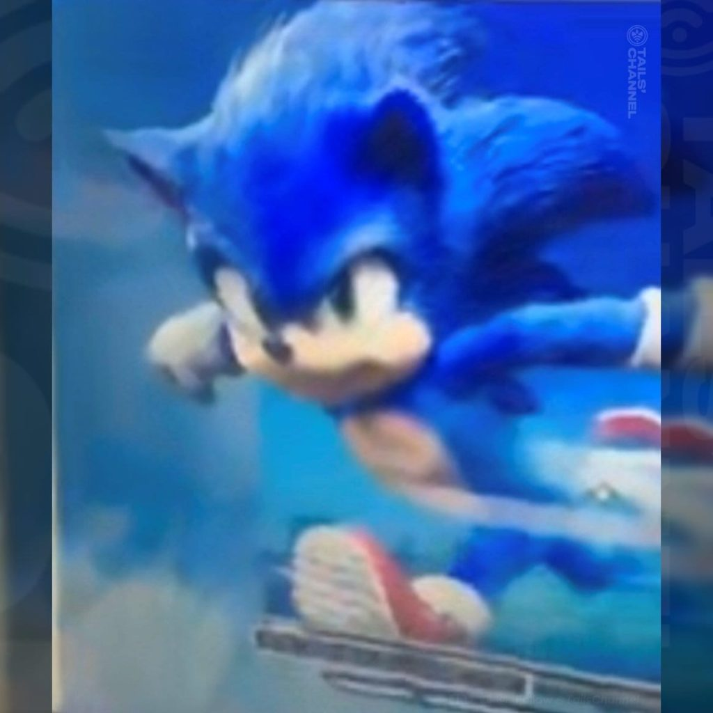 Leaked snapshot of new Sonic in action