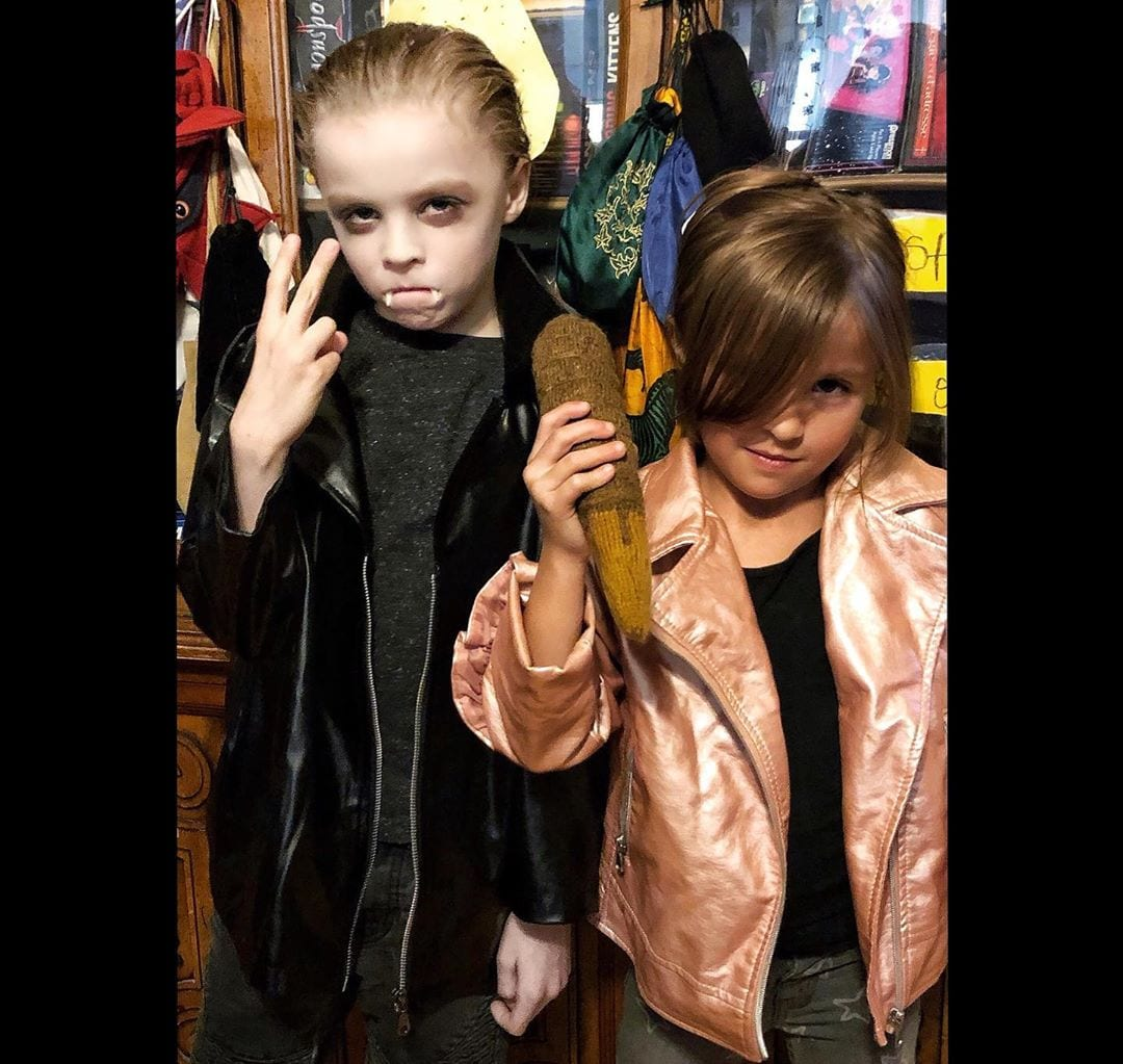 Baby Buffy Halloween cosplay
