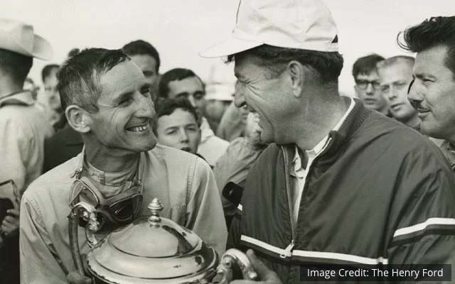 Ken Miles and Carroll Shelby, Ford v Ferrari