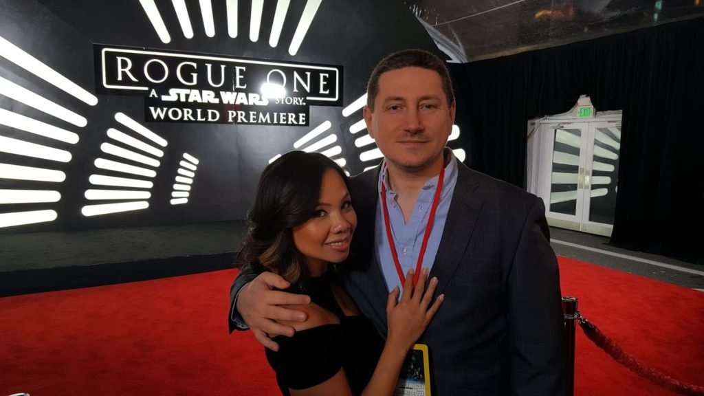 John Campea at Rogue One premiere