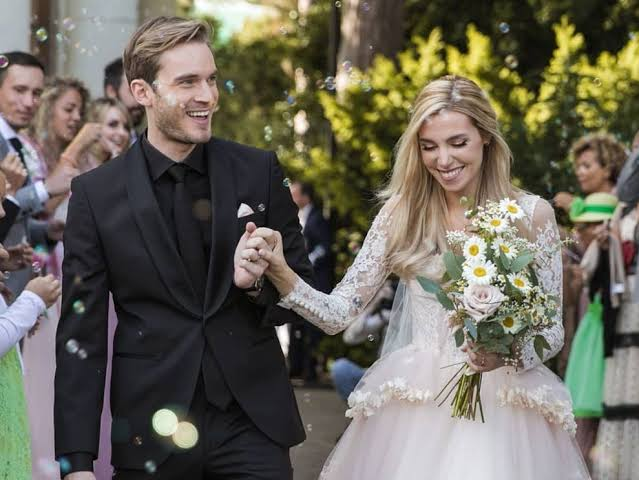 PewDiePie and Marzia wedding