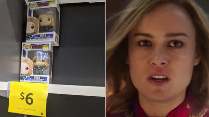 Nobody wants Captain Marvel merch even at a heavy discount