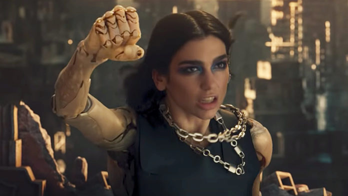 #DuaLipaIsOverParty trends after Alita theme writer made it rain on stripper
