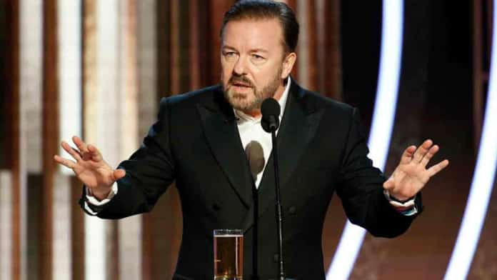 Ricky Gervais probably won't return for another Golden Globes