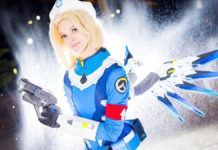 Aussie Twitch streamer spent 3 months on her Mercy cosplay and it rocks