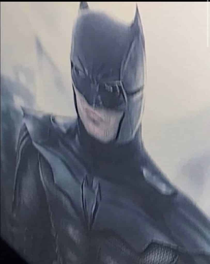 The Batman 2021 Robert Pattinson suit leak