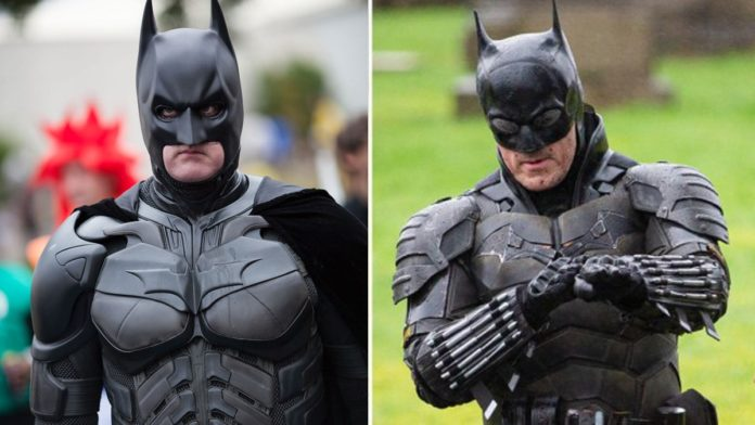 The Batman 2021 suit spotted in Scotland and it looks like bad cosplay