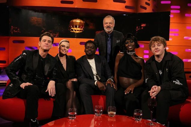 Jim Carrey and Margot Robbie on The Graham Norton Show