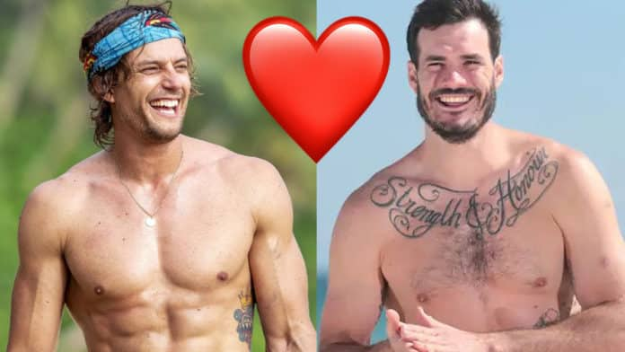 Locky questions his sexuality around Dave Genat... and real flames