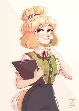 Isabelle, Animal Crossing