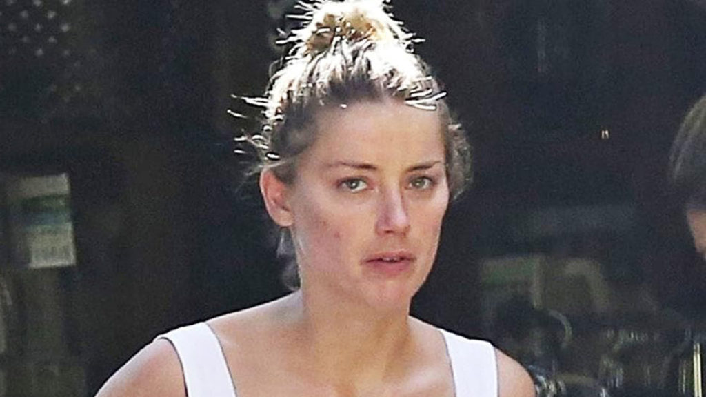 Amber Heard no make-up