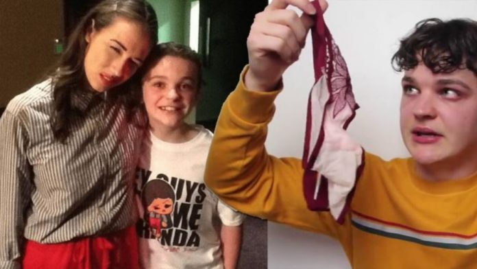 Colleen Ballinger Miranda Sings sent her used panties to a 13-year-old boy