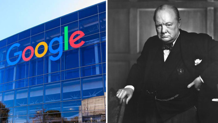 Google removed images of Winston Churchill and Gone With the Wind