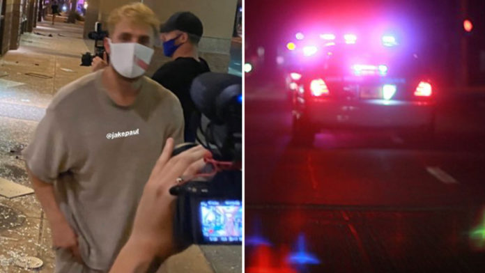Jake Paul could face jail time for criminal trespassing and looting