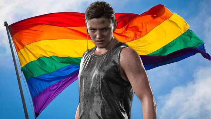 LGBTQ+ flag exists in the post apocalyptic world of The Last of Us Part II