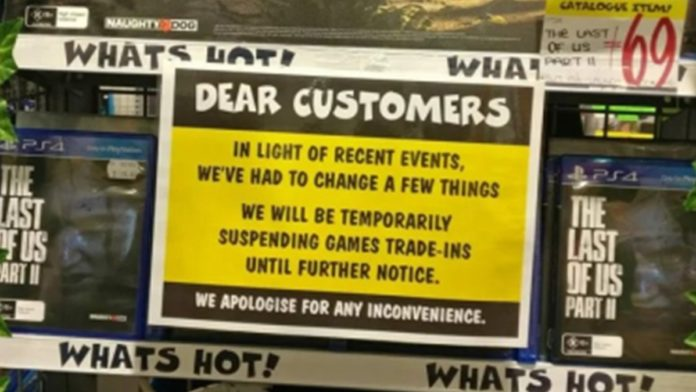 JB Hi-Fi not accepting any more The Last of Us Part II trade-ins