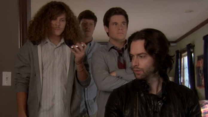 Chris D'Elia banned Workaholics episode is still available on Stan