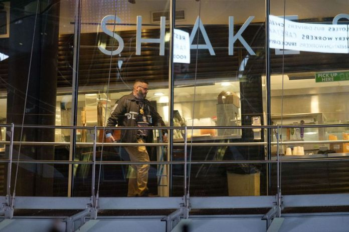 Manhattan Shake Shack poisoned three cops