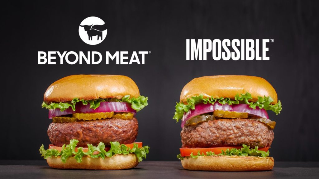 Beyond Meat and Impossible human meat