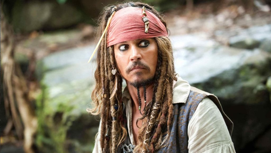 Johnny Depp Pirates of the Caribbean 6