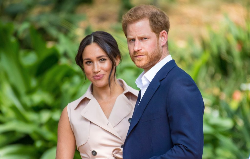 Meghan Markle  reportedly made Harry leave royal family for Marvel role (Photo by DPPA/Sipa USA)(Sipa via AP Images)