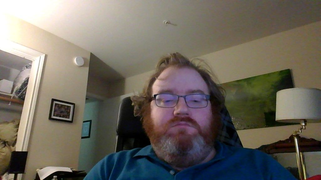 Peter Bright webcam picture