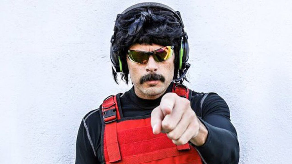"""Twitch needed a scapegoat,"" Dr Disrespect lashes out after ban"