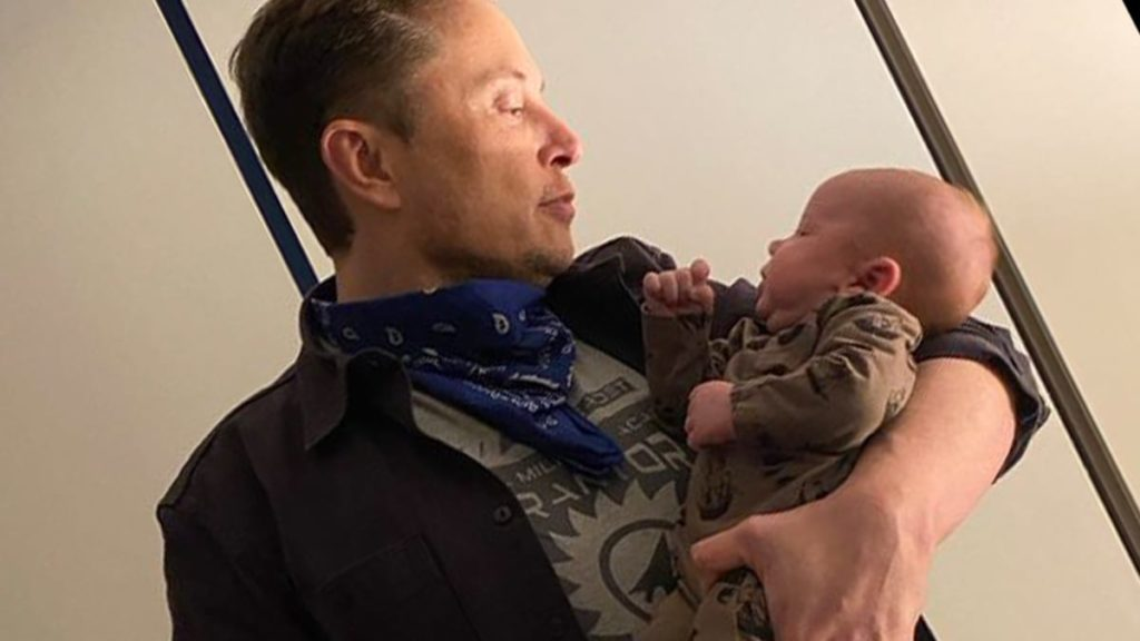 Elon Musk baby X Ae A-Xii pic with strange German message explained