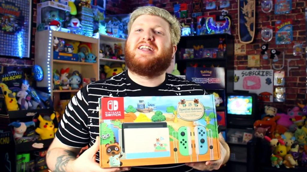Jordan Fringe with Animal Crossing Switch