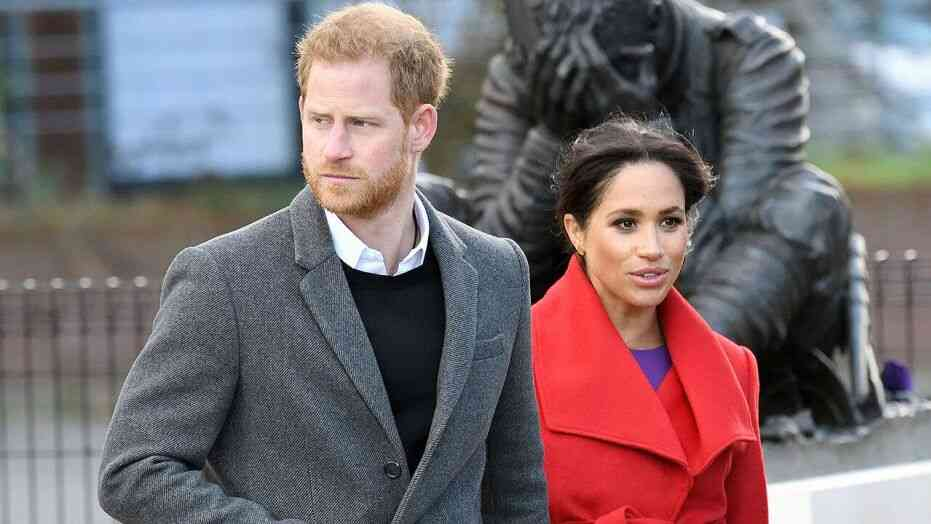 Prince Harry angry at Meghan Markle