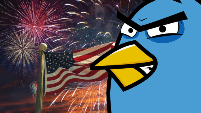 Google and Twitter censor Fourth of July and won't be celebrating it
