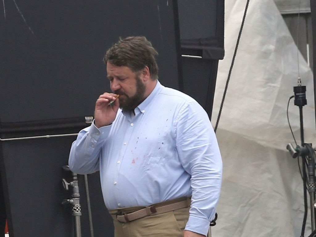 Russell Crowe body in Unhinged