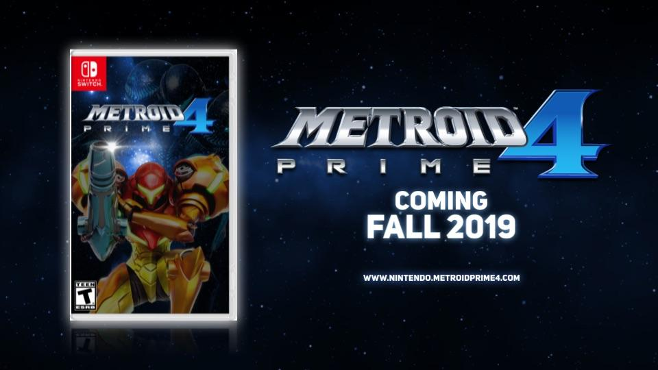 Metroid Prime 4 coming to Nintendo Switch October 31, 2020