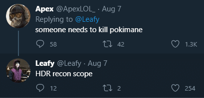 Leafy allegedly threatened Pokimane on Twitter