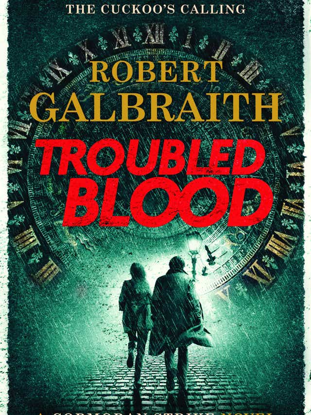JK Rowling The Cuckoos Calling series Troubled Blood