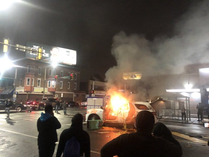 BLM looting and rioting