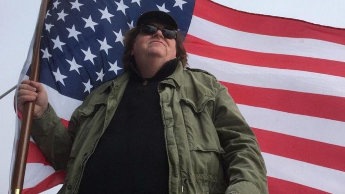 That time Michael Moore glorified a school shooting and simped for killer teens