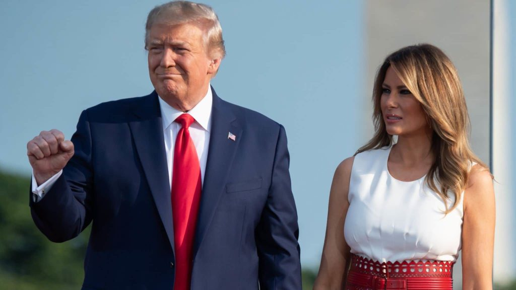 President Trump and FLOTUS Melenia