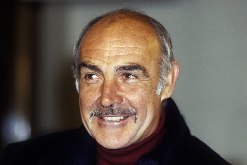 Connery died in his sleep