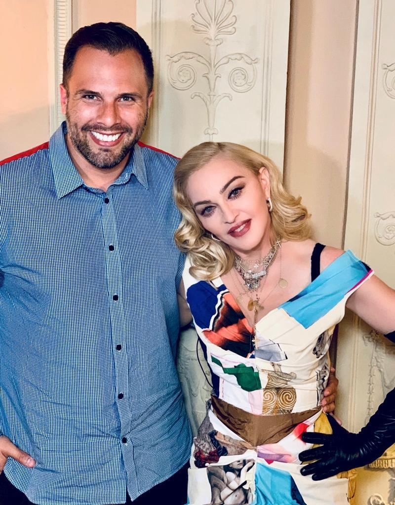 Dan Wootton and Madonna