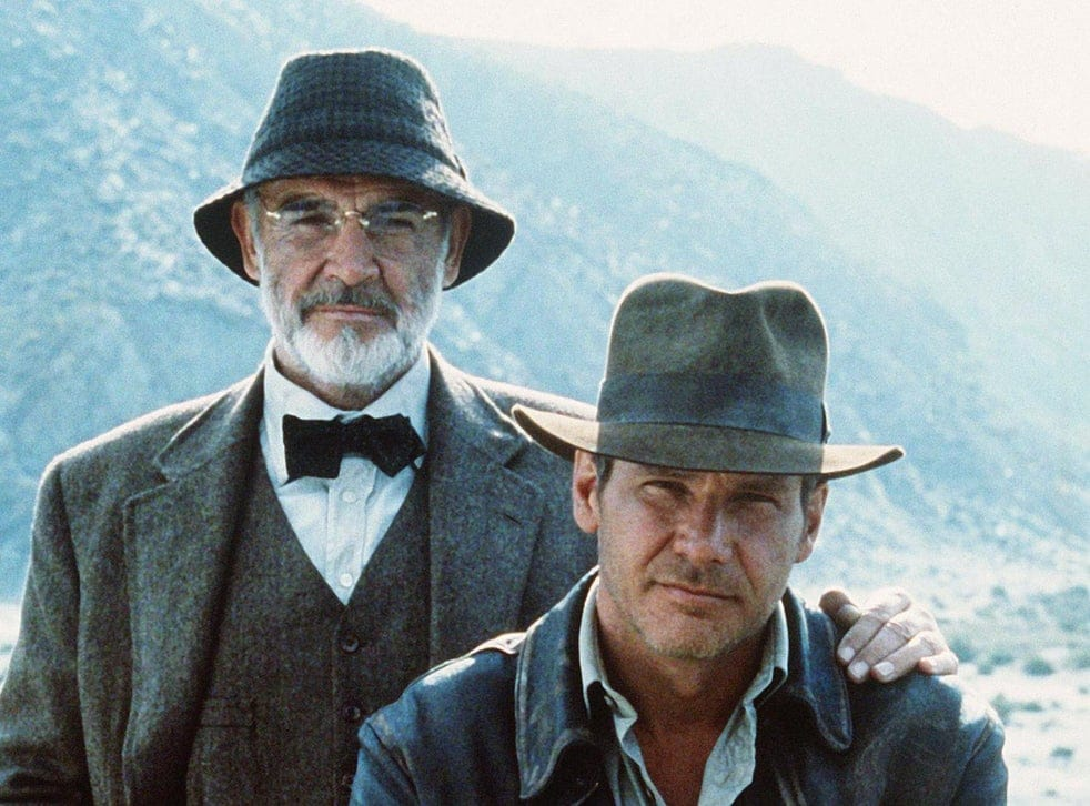 Henry and Indiana Jones