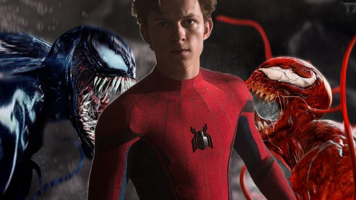 Tom Holland in Venom 2: Let There Be Carnage