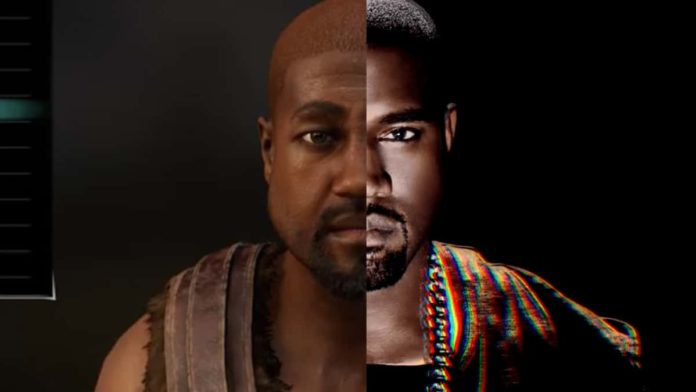 Kanye West created perfectly in Cyberpunk 2077 character creation